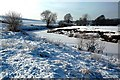 NS2802 : Frozen Water of Girvan by Mary and Angus Hogg