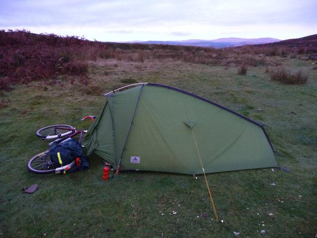 Wild camping at Eilean Aoidhe