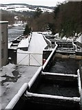 NN9357 : Pitlochry Fish Ladder by Jackie Proven