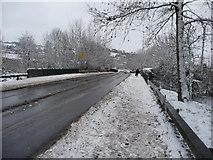 SS9612 : Tiverton : Heathcoat Way B3391 by Lewis Clarke