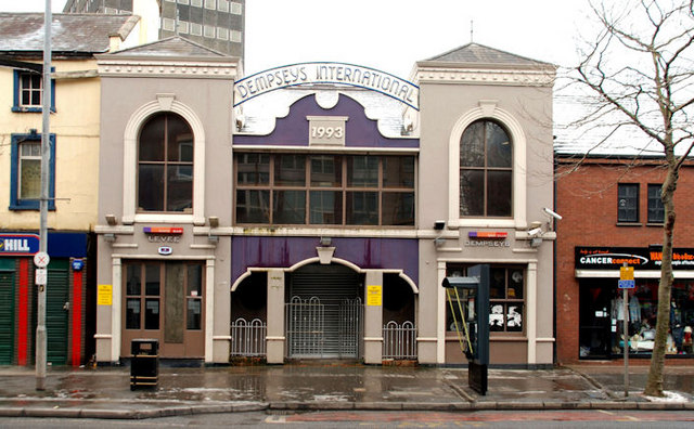 "Former ""Dempsey's"" bar, Belfast"