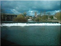 SK3536 : Weir, Derby by Eamon Curry
