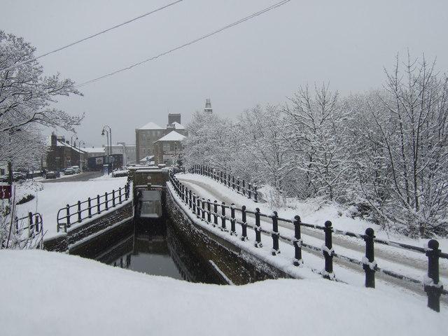 Huddersfield Narrow Canal, Slaithwaite