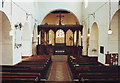 SP8822 : Interior of All Saints, Wing, Bucks. by nick macneill