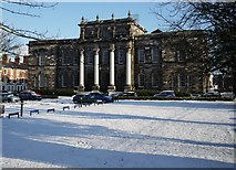 J3372 : Snow at The Union Theological College by Rossographer