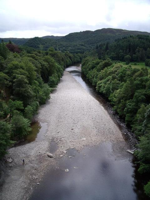 River Garry from Garry Bridge
