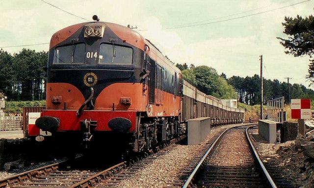 Tara Mines train, Drogheda (2)
