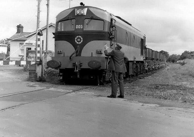 Gypsum train at Wilkinstown near Navan