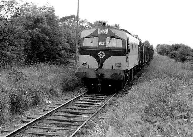 Kingscourt train at Gibbstown near Navan