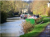 ST8259 : Everything but the kitchen sink, Kennet and Avon Canal by Maigheach-gheal
