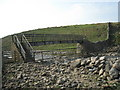 NY8133 : Footbridge over Harwood Beck by Philip Barker