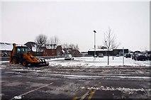 SU3988 : Sainsbury's car park in Wantage by Steve Daniels
