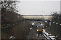 SE2932 : Meadow Road Railway Bridge by Richard Kay
