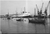 SY6878 : Viking ship in Weymouth Harbour by Rev. E. V. Tanner