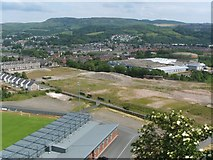 NS4074 : Site of the former Blackburn Aircraft Factory by Lairich Rig