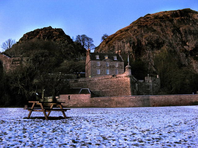 Entrance to Dumbarton Castle