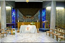 TL4359 : The chapel at Churchill College, Cambridge by Tiger