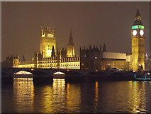TQ3079 : Westminster Bridge and the Houses of Parliament by David Dixon