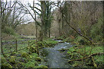 SK1273 : Stream at the bottom of Flag Dale by Bill Boaden