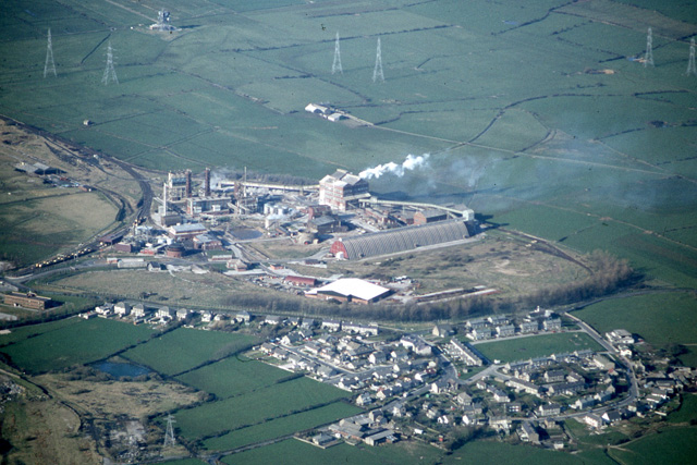 Middleton from the air