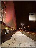 TQ1985 : Wembley: alongside Wembley Arena by Chris Downer