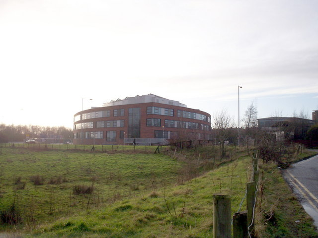New Health and Care Centre nearing completion, Portadown. 2