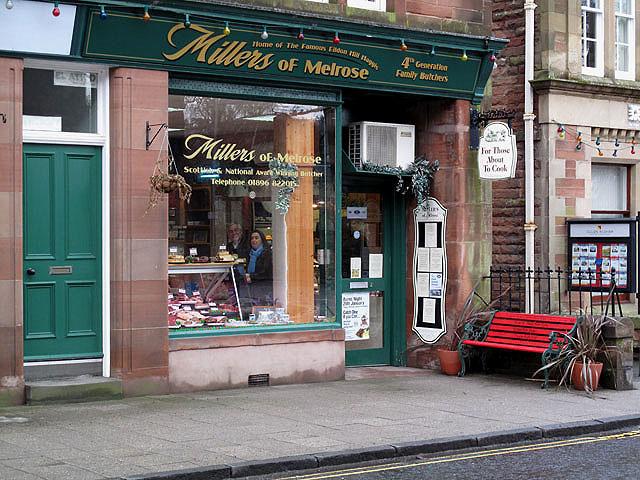 Millers of Melrose Butchers shop