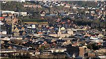 J4874 : Newtownards from Scrabo 2010-4 by Albert Bridge
