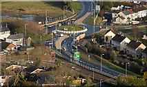 J4773 : Newtownards from Scrabo 2010-6 by Albert Bridge
