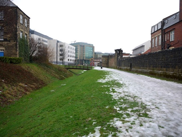 West Walls town wall and ditch