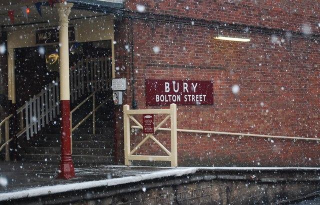 Station Sign, Bury Bolton Street Station