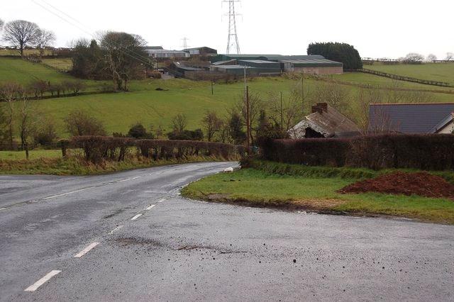 Bellahill Road near Carrickfergus