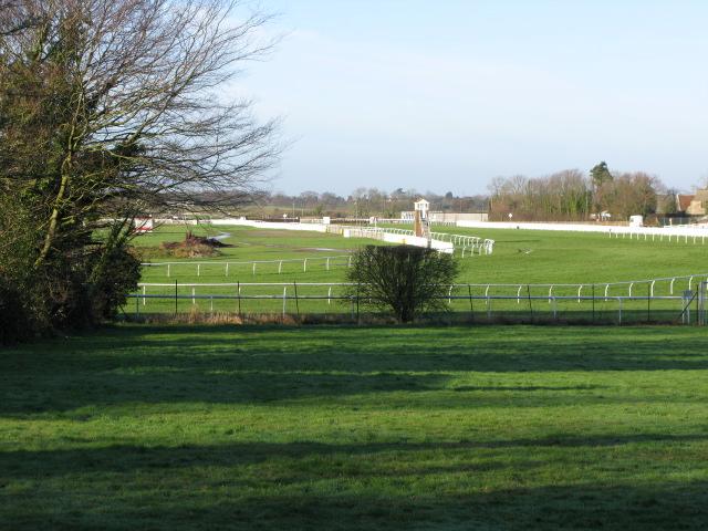 View of Folkestone racecourse