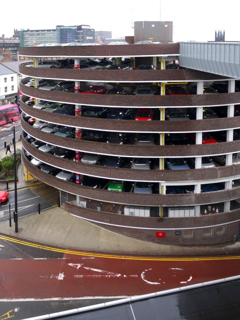 Car To Go >> Multi-storey car park, Percy Street © Andrew Curtis cc-by ...