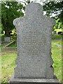 NZ3364 : Grave of George Ward in Jarrow Cemetery by Vin Mullen