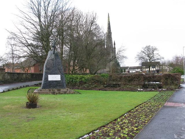 Blantyre Colliery Explosion Centenary Memorial 1877-1977
