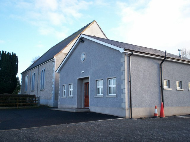 The New Vinecash Presbyterian Church Halls
