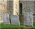 TF7602 : St George's church - churchyard by Evelyn Simak