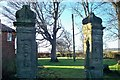 NU2504 : Ruins of The Old Manor House by David Clark