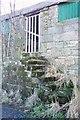 NU2504 : Granary steps by David Clark
