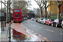 TQ3179 : Lambeth Road, Southwark by Peter Trimming