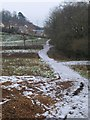 SX8966 : Path past Ellacombe Plantation by Derek Harper