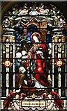 TQ2882 : Holy Trinity, Great Portland Street, London W1 - Window by John Salmon