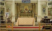 TQ2882 : Holy Trinity, Great Portland Street, London W1 - Sanctuary by John Salmon