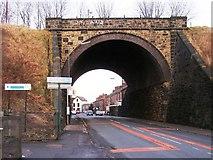 SD7807 : Church Street Railway Bridge by David Dixon