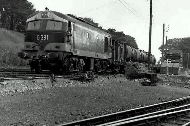 Oil tank train, Drogheda