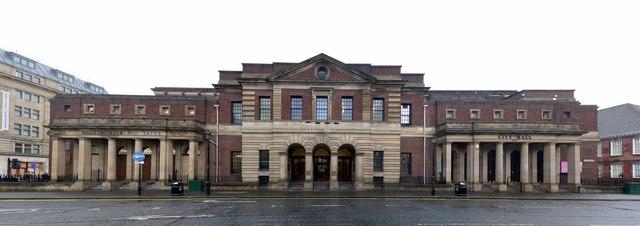 Northumberland Baths, City Pool and City Hall, Northumberland Road