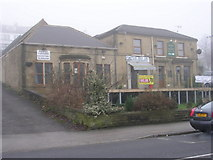 SE1437 : Shipley & District Social Club - Saltaire Road by Betty Longbottom