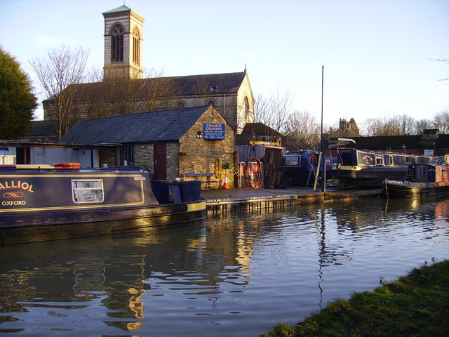 St. Barnabas Church and the Oxford Canal