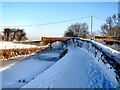 SD7908 : Bury & Bolton Canal (Withins Bridge) by David Dixon